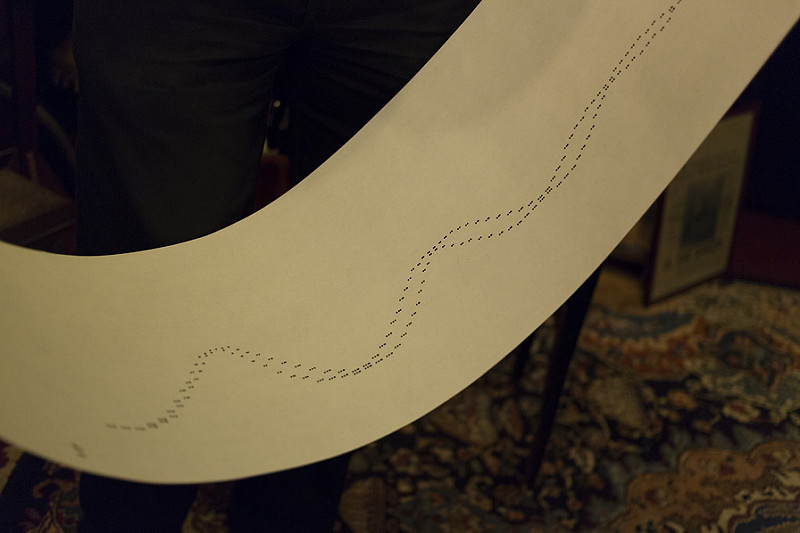Two Curves roll at Pianola Museum Amsterdam